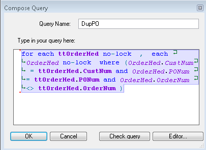 07-DupPO query